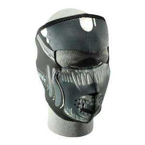 Zan Headgear Alien Mens Full Face Mask Street Bike Motorcycle Helmet
