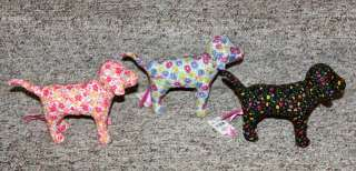 Victoria Secret PINK Ltd Ed Plush DOGS DREAM LOVE PEACE
