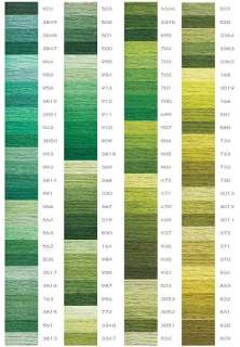 DMC Variegated EMBROIDERY FLOSS PACK 36 SKEINS