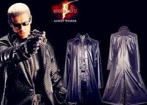 Resident Evil 5 Albert Wesker cosplay halloween costume