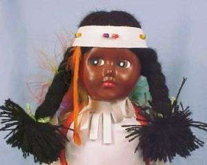 Indien Art Eskimo WOMAN NATIVE AMERICAN INDIAN DOLL