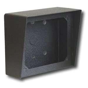 Surface Mount Box Vandal Weather Resistant Black Powder Painted Steel
