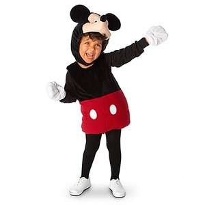 Plush Mickey Mouse Costume 3T