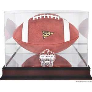 Alabama Crimson Tide Football Display Case  Details 2011