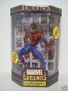 SPIDER MAN Marvel Legends Icons 12 Figure w/ Comic