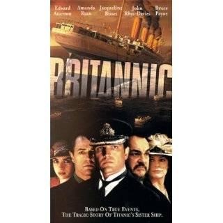 Britannic [VHS] ~ Edward Atterton, Amanda Ryan, Jacqueline Bisset and
