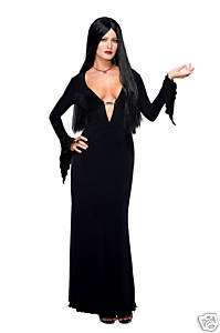 MORTICIA ADDAMS adams adult womens halloween costume S