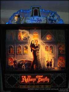 CLOUD TOPPER LIGHT Addams Family Pinball