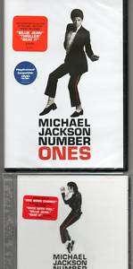 Michael Jackson (CD & DVD) Number Ones (Thriller Video)