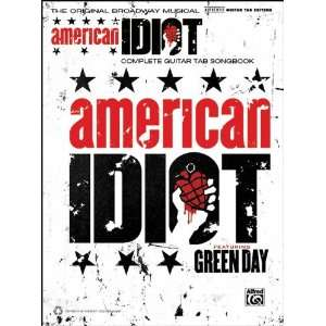 Green Day American Idiot The Musical Guitar TAB Musical Instruments