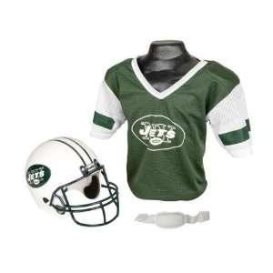 Americans Sports New York Jets Football Helmet & Jersey