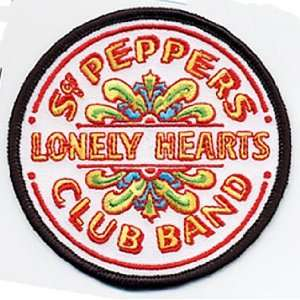 The BEATLES Sgt. Peppers Lonely Hearts Club PATCH