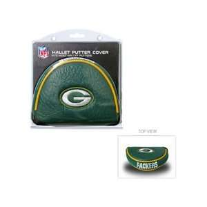 Team Golf NFL Green Bay Packers   Mallet Putter Cover