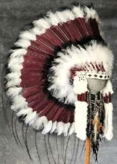 Native American Sacred Mesa War Bonnet Headdress