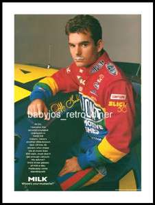 JEFF GORDON Nascar Race Car Driver PRINT AD Advertisement 1998