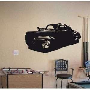 Wall Vinyl Sticker American HOT ROD Car Classic 007