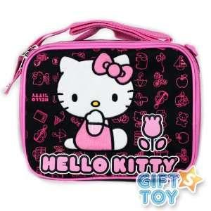 Cute Hello Kitty Lunch Bag & Lunch Box