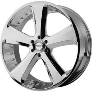 American Racing Vintage Circuit 18x8 Chrome Wheel / Rim 5x5.5 with a