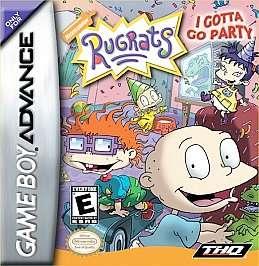 Rugrats I Gotta Go Party Nintendo Game Boy Advance, 2002