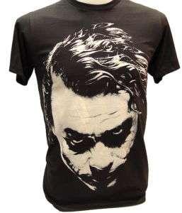 Nwt JOKER Heath Ledger Retro T Shirt Vintage BATMAN XL