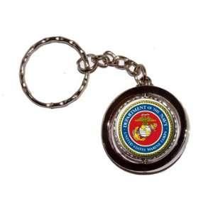 USMC Marine Corps Oorah   New Keychain Ring: Automotive
