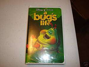 Bugs Life VHS Disney 1st Edition Video Movie Heimlich 786936088250