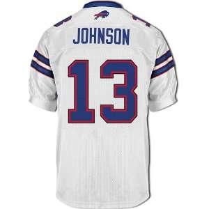 2011 Buffalo Bills jersey #13 Johnson white jerseys size