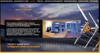 Progettata per la ricezione del segnale Tv digitale terrestre DTT e