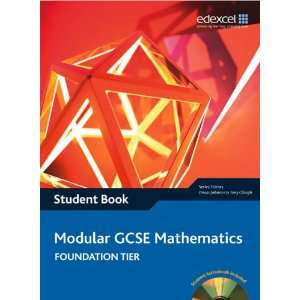 Pack WITH Edexcel GCSE Maths, Modular Foundation Student Book