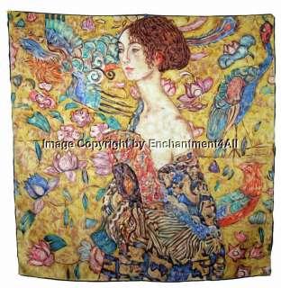 oil painting donna con ventaglio aka woman with fan