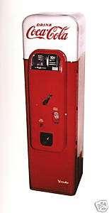 Vendo 44 Coke Machine Restoration Manual 64 PAGES