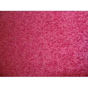 Circle Area Rug. Pink. LUXURIOUS Plush and Thick SHAG. Many sizes