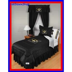 Missouri Mizzou Tigers 5pc LR Full Comforter/Sheets Bed