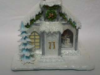 Snow Angels Holiday Cloud 9 Chapel Hawthorne Village Boxed w/ COA
