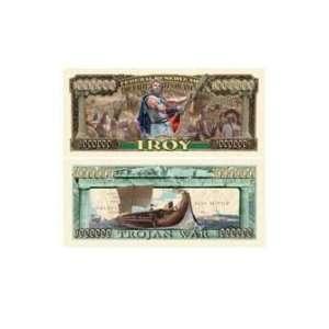 Bills Trojan War (Hit Movie Troy) Million Dollar Bill Toys & Games