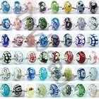 5Pc Murano Lampwork Glass European Beads Bracelet PPA 1 items in