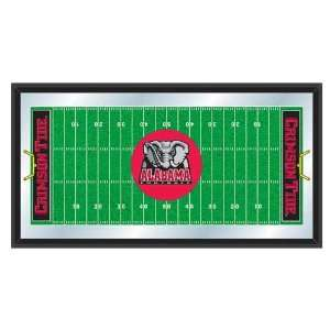 University of Alabama Crimson Tide NCAA Football Mirrored