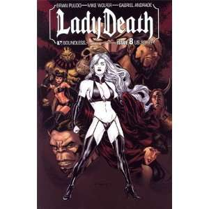 Lady Death Vol 3 #8 Gabriel Andrade Cover: Gabriel Andrade