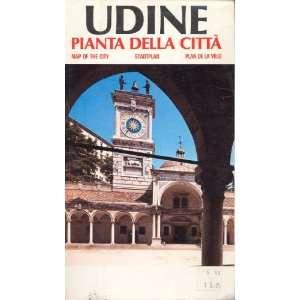 Map Udine Italy Pianta Della Citta none Books