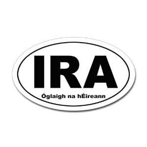 Irish Republican Army IRA oval sticker Army Oval Sticker