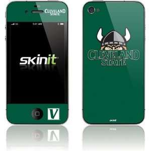 Cleveland State University   Green skin for Apple iPhone 4