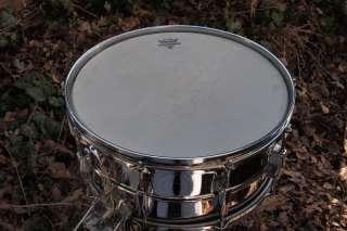 Vintage Ludwig Super Sensitive Snare Drum   6.5 x 14   Blue/Olive