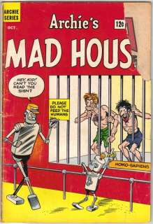 Archies Madhouse Comic Book #22 First Sabrina, Archie 1962 GOOD