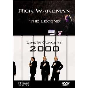 Rick Wakeman   The Legend (Live in Concert 2000) (DVD + CD
