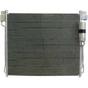 05 NISSAN FRONTIER truck A/C CONDENSER SUV, , Parallel Type OEM Style