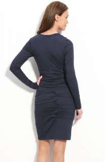 Nicole Miller Tuck Detail Jersey Dress ( Size S)