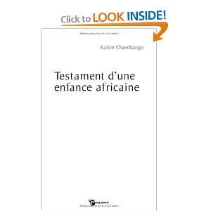 une enfance africaine (9782748344677): Karim Ouedraogo: Books