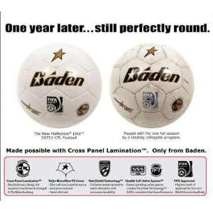 Perfection Elite Teijin Microfiber Soccer Balls WHITE/GOLD