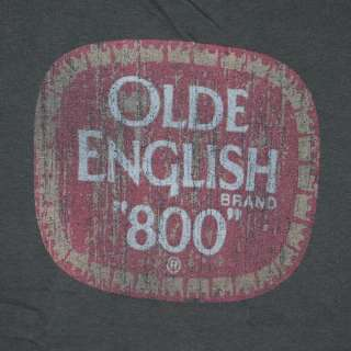 Olde English Faded Logo Grey Juniors Graphic Tee Shirt