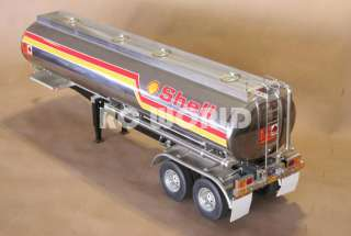 TAMIYA 1/14 RC TRACTOR TRAILER SHELL GAS TANKER *NEW*